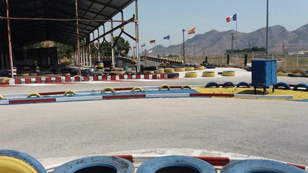 Circuito de karts de 1.200 metros